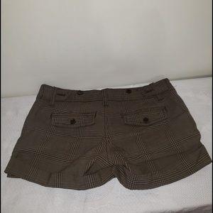 ❄️3/$50 Streetwear Society Brown Plaid CargoShorts